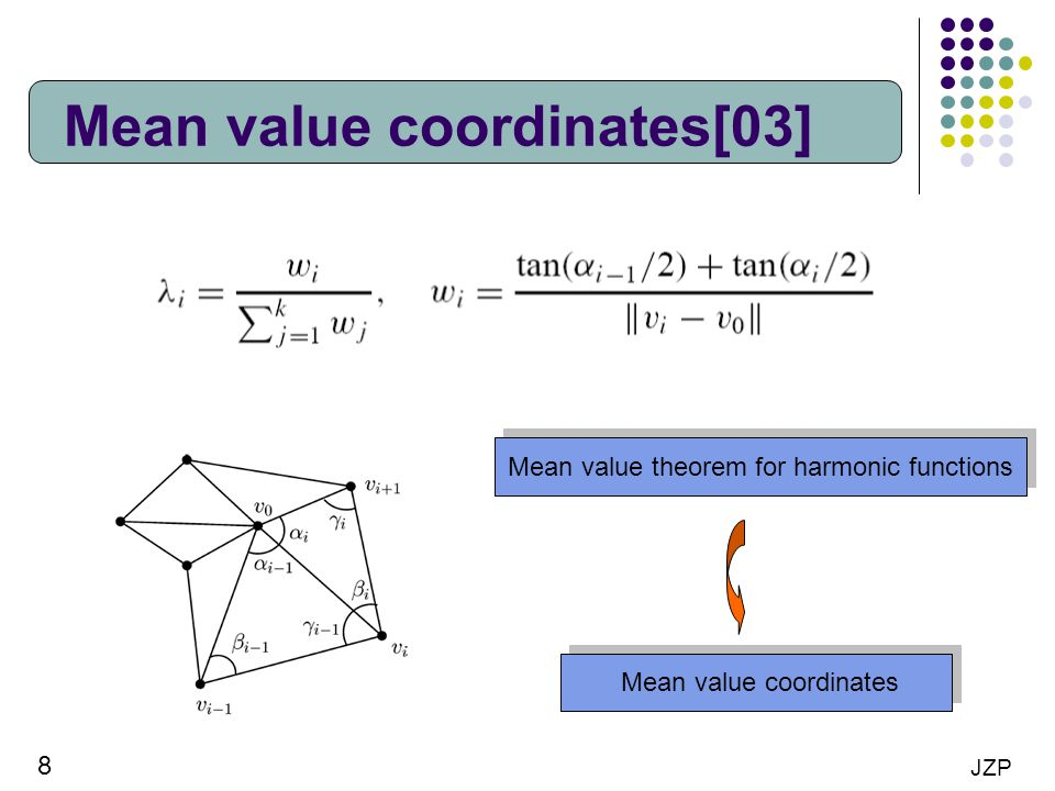 Mean value coordinates[03]